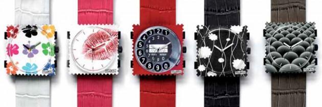 Relojes STAMPS – cambia de reloj cuando quieras con un click.